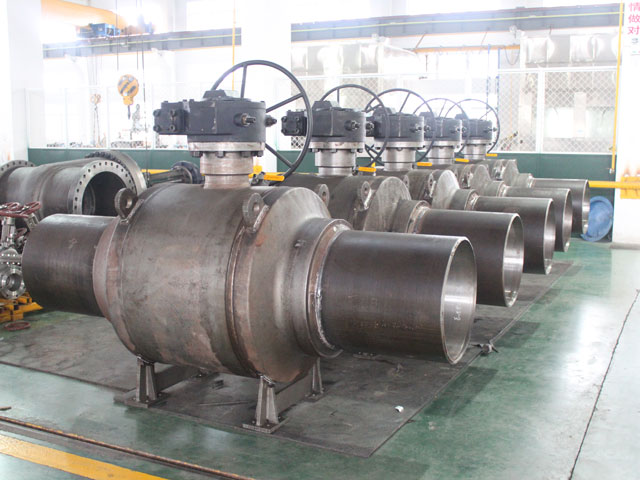 Fully Welded Ball Valve Extended Stem Ball Valves Pipeline