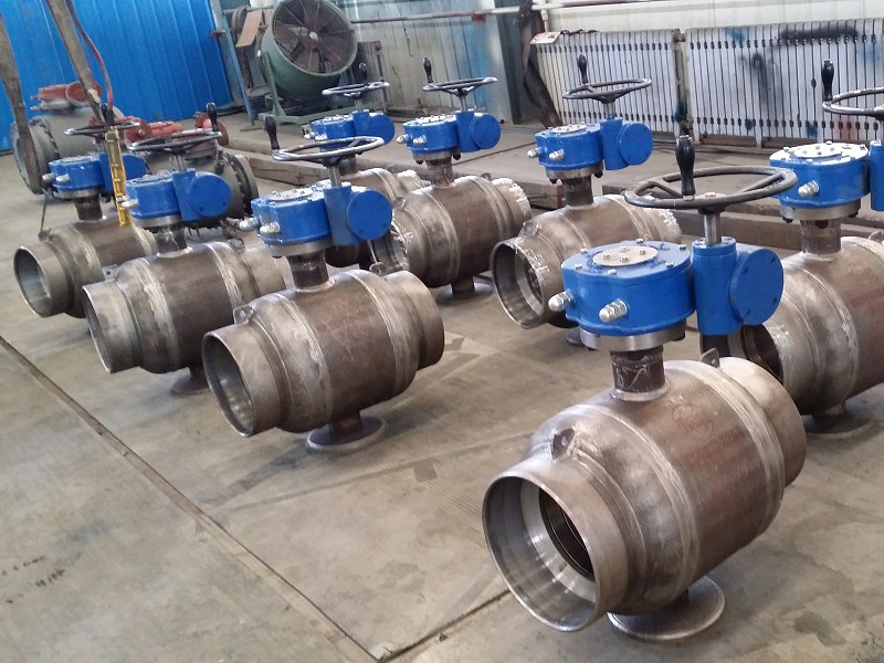 ST37.8 District heating ball valve