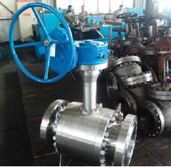 cryogenic trunnion mounted ball valves