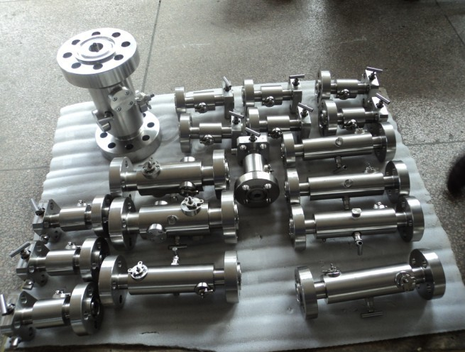 2500lbs 1 1/2 double block and bleed ball valves