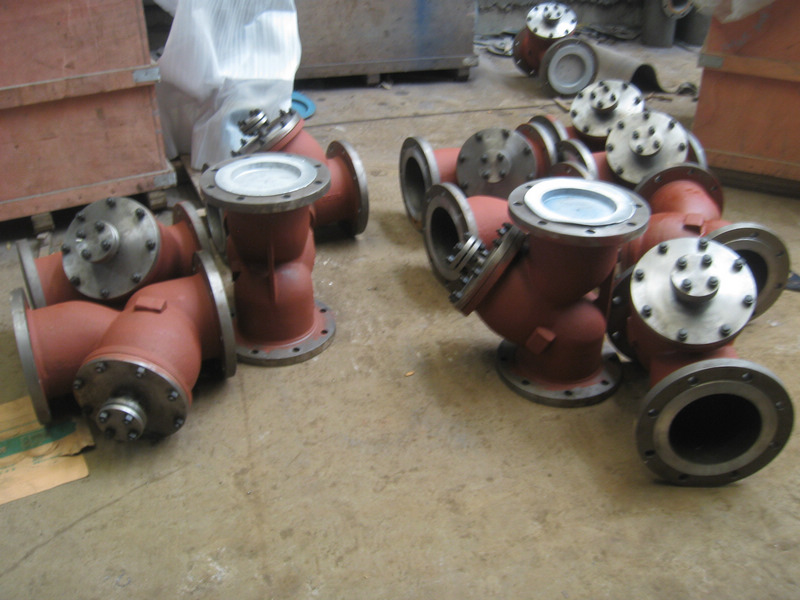API WCB Y type strainers
