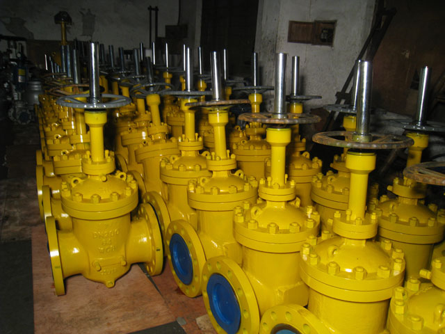 K type unfurled slab gate valves