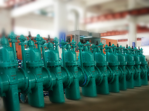City gas slab gate valves