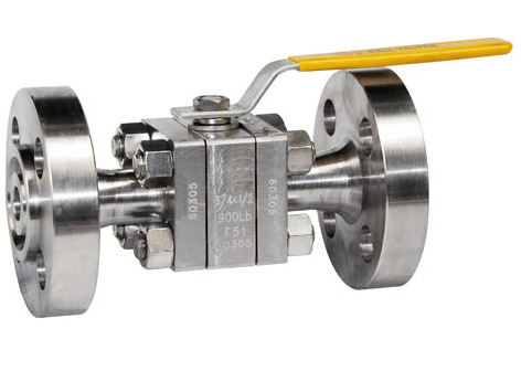 F51 duplex stainless steel ball valves