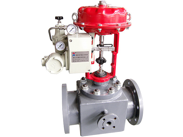 Jacketed control valve