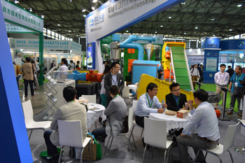 Communication in waste management in IE Expo