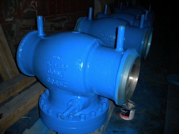 DIN 3840 SWING CHECK VALVE WITH COUNTERWEIGHT
