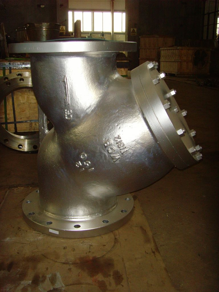 WCB Y type strainers