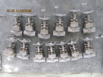 800lbs SW ends F11 Forged steel gate valves