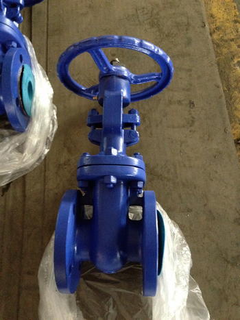 DIN 3352 GG25 Metal seated Cast iron gate valves