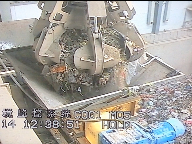 double shaft shredder in waste to energy plant