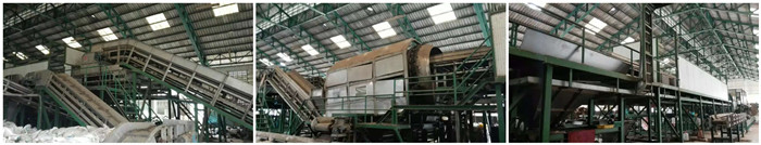 solid waste processing equipments