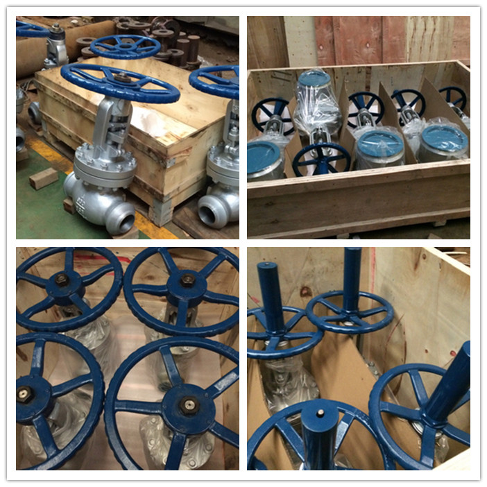 900lbs 4in BW ends gate valves and globe valves packing
