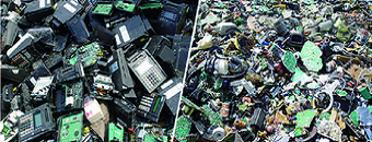 E-waste shredder