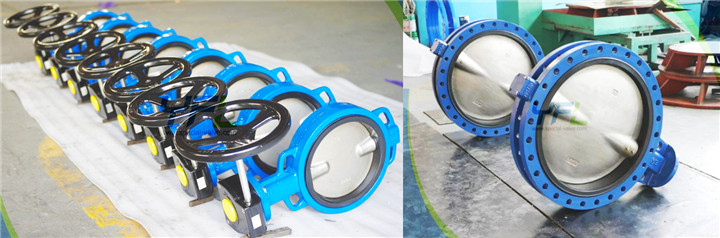resilient seat butterfly valve