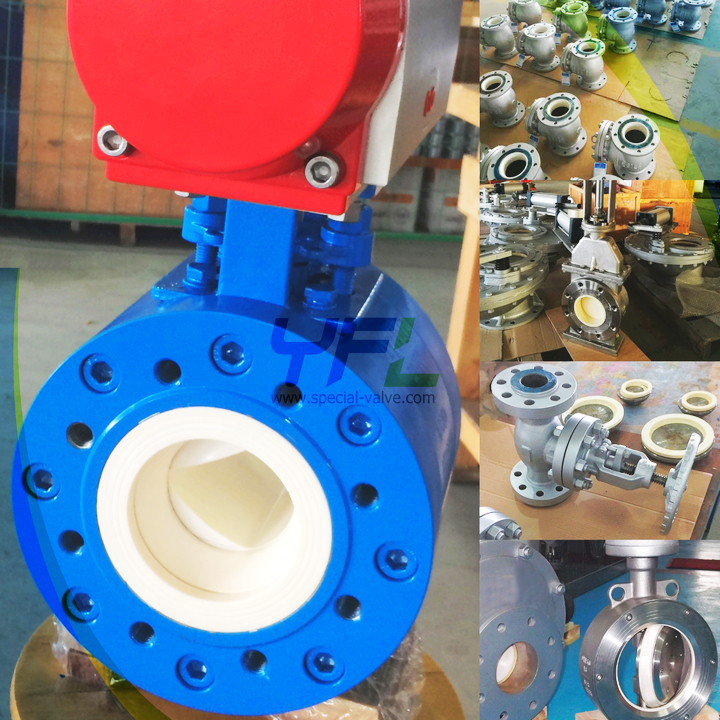 ceramic ball valves for PCI system