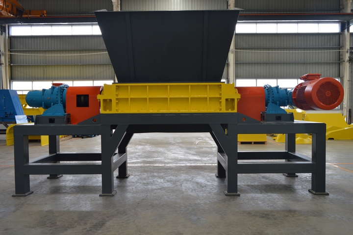 MSW double shaft shredder