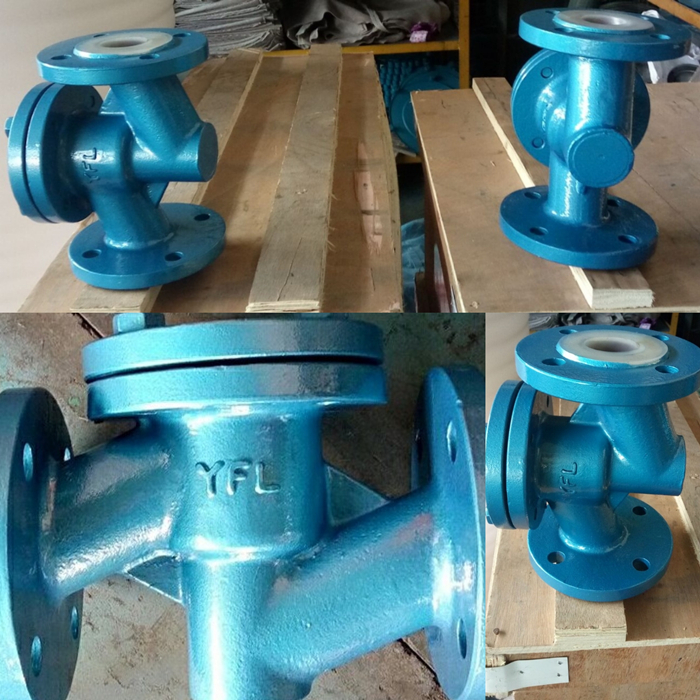 FEP(F46)Lined lift type check valve