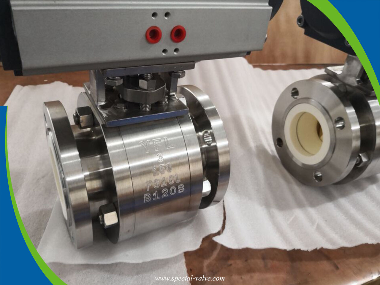 abrasion and corrosion resistant ceramic ball valves