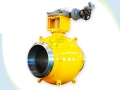 API 6D Single Welding Seam Fully Welded Ball Valve