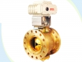 Pneumatic Eccentric V-Port Cut Off Ball Valve