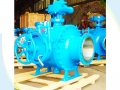 API 6D Gear Operated Pipeline Pigging Ball Valve
