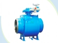API 6D Extended Stem Fully Welded Ball Valve