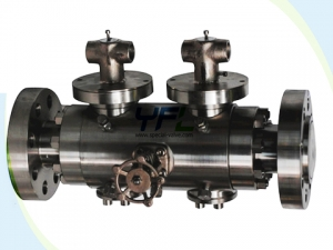 Forged steel Double block and bleed ball valve