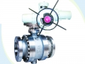 Electric Stainless Steel CF8M Metal Seated Ball Valve