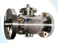 Side Entry Forged Steel Trunnion Mounted Ball Valve