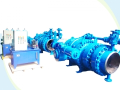 Hydro turbine inlet ball valves