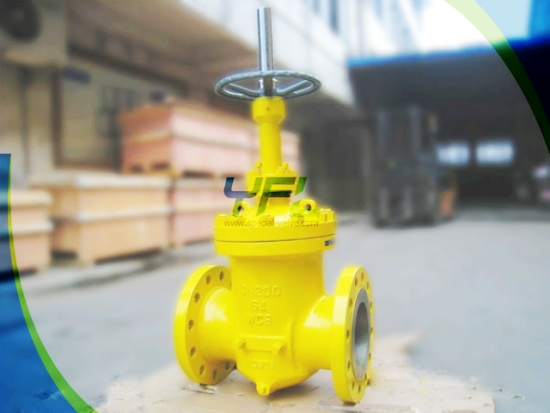 Large Size Double Wedge Expanding Slab Gate Valve Slurry