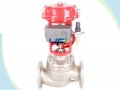 Diaphragm Actuated Intelligent Cage Guided Globe Control Valve