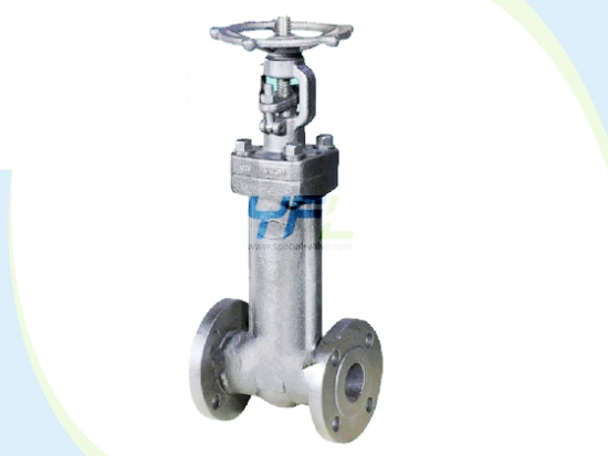 Durable Forged Steel Extended Stem Bellows Seal Gate Valve