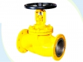 Extended Bellows Seal Globe Valve For Chlorine