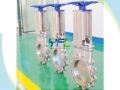 Sprocket Wheel Operated Lugged Type Knife Gate Valve