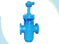 Large Size Double Wedge Expanding Slab Gate Valve
