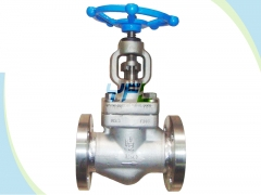 Welded bonnet forged globe valves