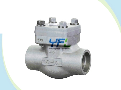 Bs 5352 Threaded Forged Steel A105 Ball Type Check Valve