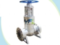 API 600 Pressure Seal Bonnet Cast Steel C12A Gate Valve
