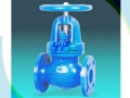 DIN 3356 Straight Type  Ductile Cast Iron Globe Valve
