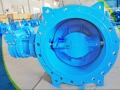 High Peformance Double Offset Soft Seal Butterfly Valve
