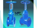 BS 5163/ DIN 3352 Rising Stem DI Resilient Seated Gate Valve