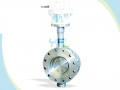 Triple Offset Stainless Steel LNG Cryogenic Butterly Valve