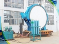 Hydraulic Slow Closing Check Butterfly Valve With Counterweight