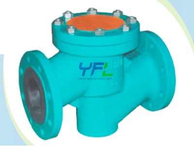 Rubber Lined Globe Check Diaphragm Valve Lubricating Oil