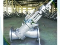 Aluminum Oxide Industry Electric Y Type Slurry Valve