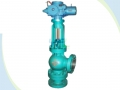 Needle Regulating Angle Type Slurry Valve