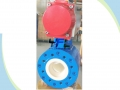 PN16 DN100 Electric V-Port Ceramic Ball Valve