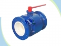 Lever Operated Fully Ceramic Lined Ball Valve